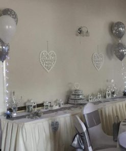 Three Balloon Display Decor Lights