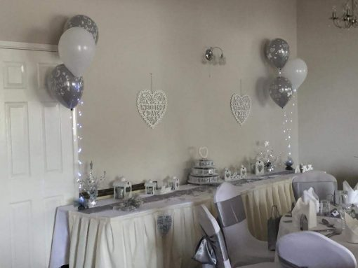 Three Balloon Display Decor Lights