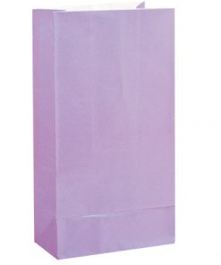 Paper Party Bags Lavender