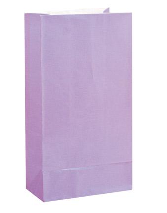 Paper Party Bags Lavender