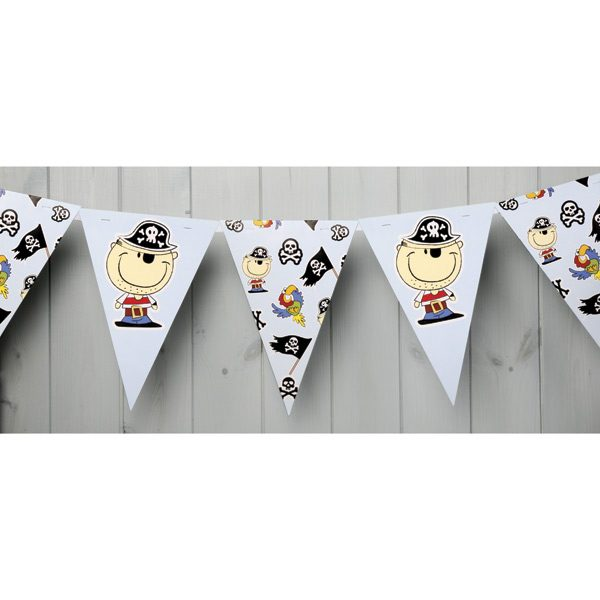 Pirate Paper Bunting