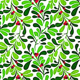 Paper + Design Mistletoe Ornament Lunch Napkins