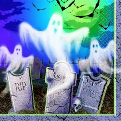 Mostly Ghostly Beverage Napkins