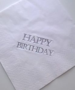Happy Birthday Luncheon Napkins