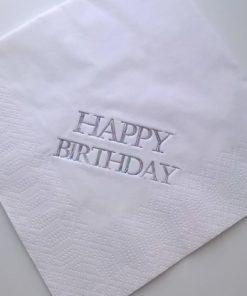 Happy Birthday Luncheon Napkins