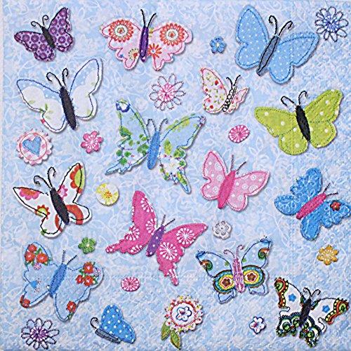 Paper + Design 'Handmade Butterflies' Napkin