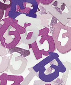 Pink '13 ' Foil Age Confetti