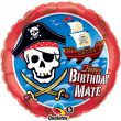 "18"" Birthday Mate Pirate Ship Foil"