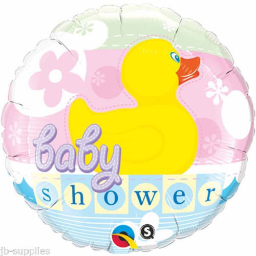"18"" Baby Shower Rubber Duckie Foil"