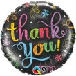 "18"" Thank You Chalkboard Foil"