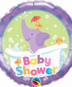 "18"" Baby Shower Elephant Foil"