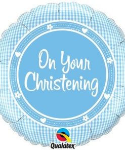 "18"" On Your Christening Day Foil"