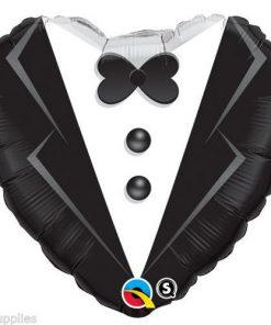 "18"" Wedding Tuxedo Foil"