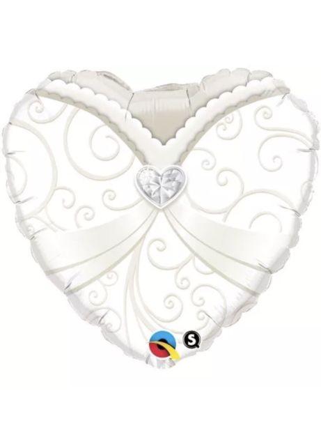 "18"" Wedding Gown Foil"