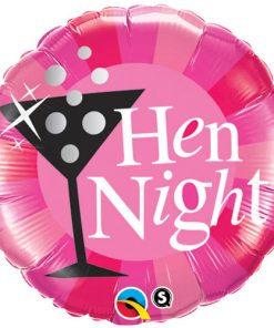 "18"" Hen Night Pink Foil"