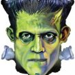 "25"" Shape Frankenstein Head Foil"