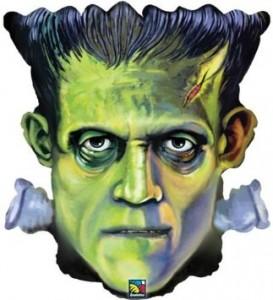 """25"""" Shape Frankenstein Head Foil"""