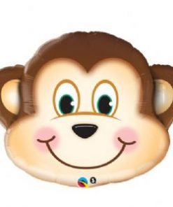 Mischievous Monkey Shape Foil