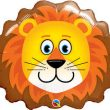 "29"" Lovable Lion Shape foil"