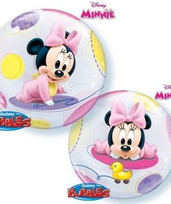 "22"" Disney Baby Minnie Single Bubble"