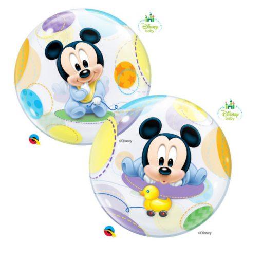 """22"""" Disney Baby Mickey Single Bubble"""