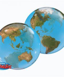 """22"""" Planet Earth Single Bubble"""