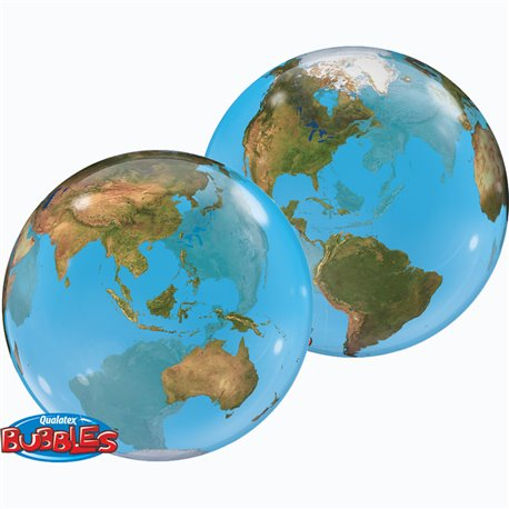 "22"" Planet Earth Single Bubble"
