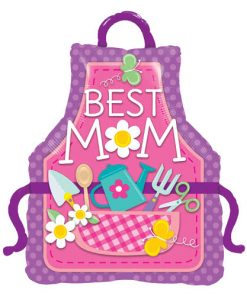 Best Mum Apron Shape Foil