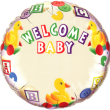 "18"" Welcome Baby Duck's Name Foil"