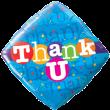 "18"" Thank U Colourful Dots Foil"