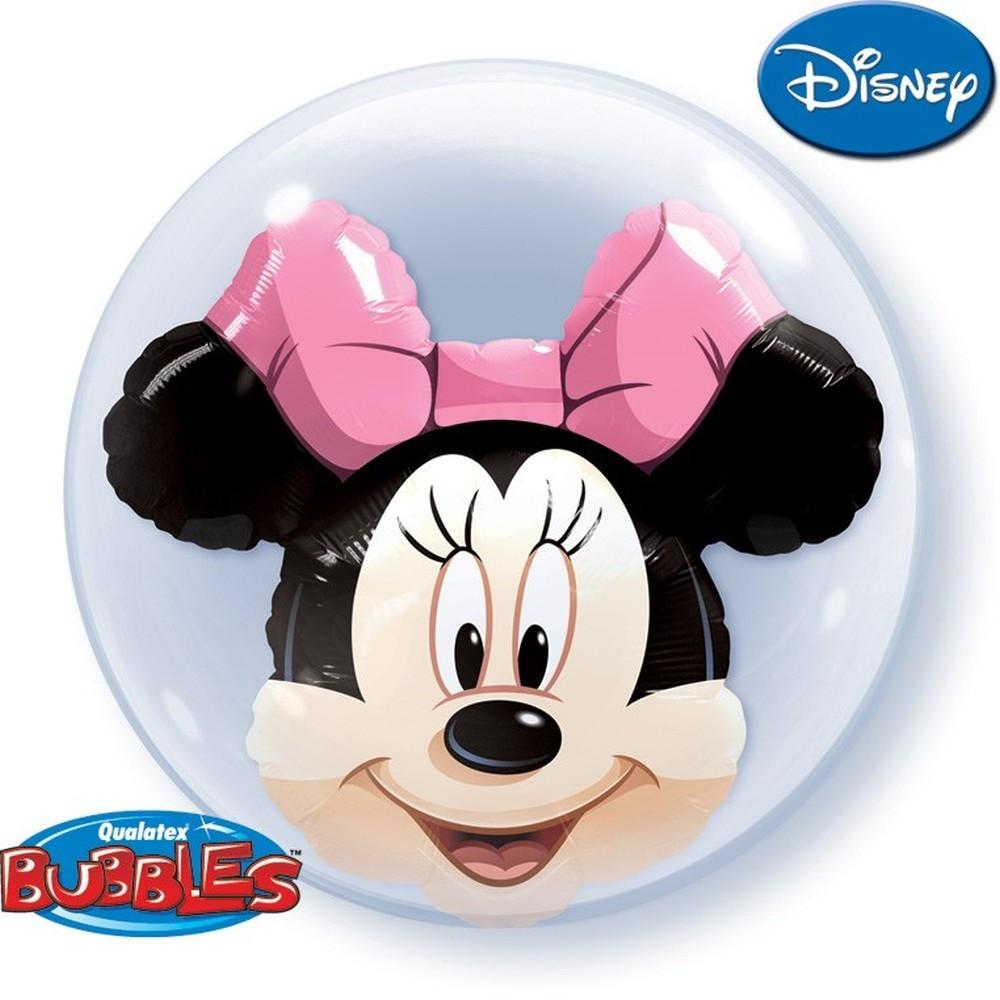 "24"" Disney Minnie Mouse Double Bubble"