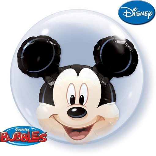 "24"" Disney Mickey Mouse Double Bubble"