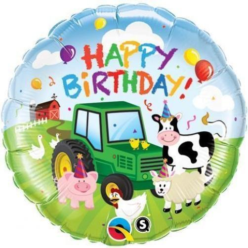 "18"" Birthday Barnyard Foil"