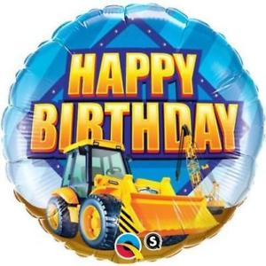 "18"" Birthday Construction Zone Foil"