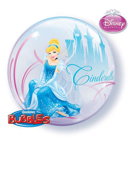 "22"" Disney Cinderella's Royal Debut Single Bubble"