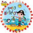 "18"" Rachel Ellen Birthday Pirate Foil"
