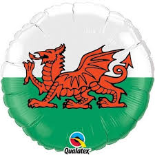 "18"" Welsh Dragon Foil"