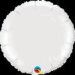 """18"""" Circle White foil"""