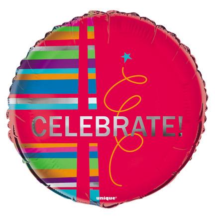 """18"""" Red Celebrate Foil"""