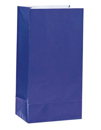 Paper Party Bags Royal Blue
