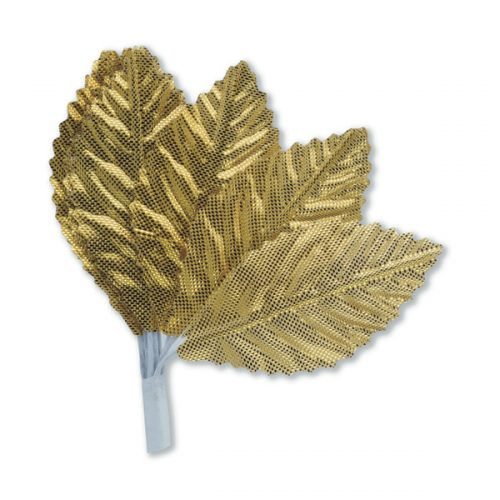 Gold Satin Leaf