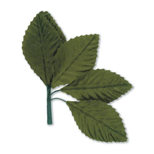 Green Satin Leaf