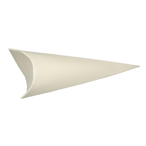 Silk Confetti Cone Ivory
