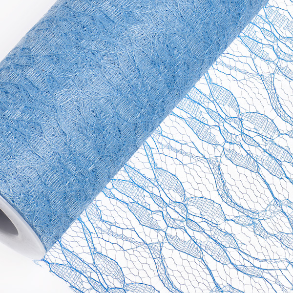15cm Light Blue Lace Net