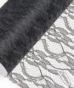 15cm Black Lace Net