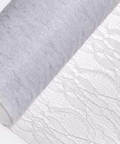 15cm White Lace Net