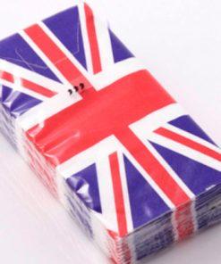 Union Jack Paper Tissues