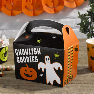 Happy Halloween Lunch Boxes
