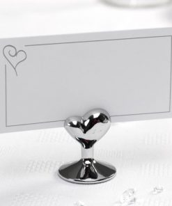 Contemporary Heart - Place Card Holders
