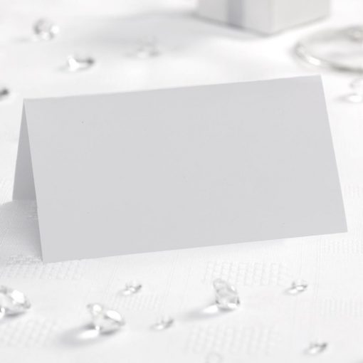 Place Cards White